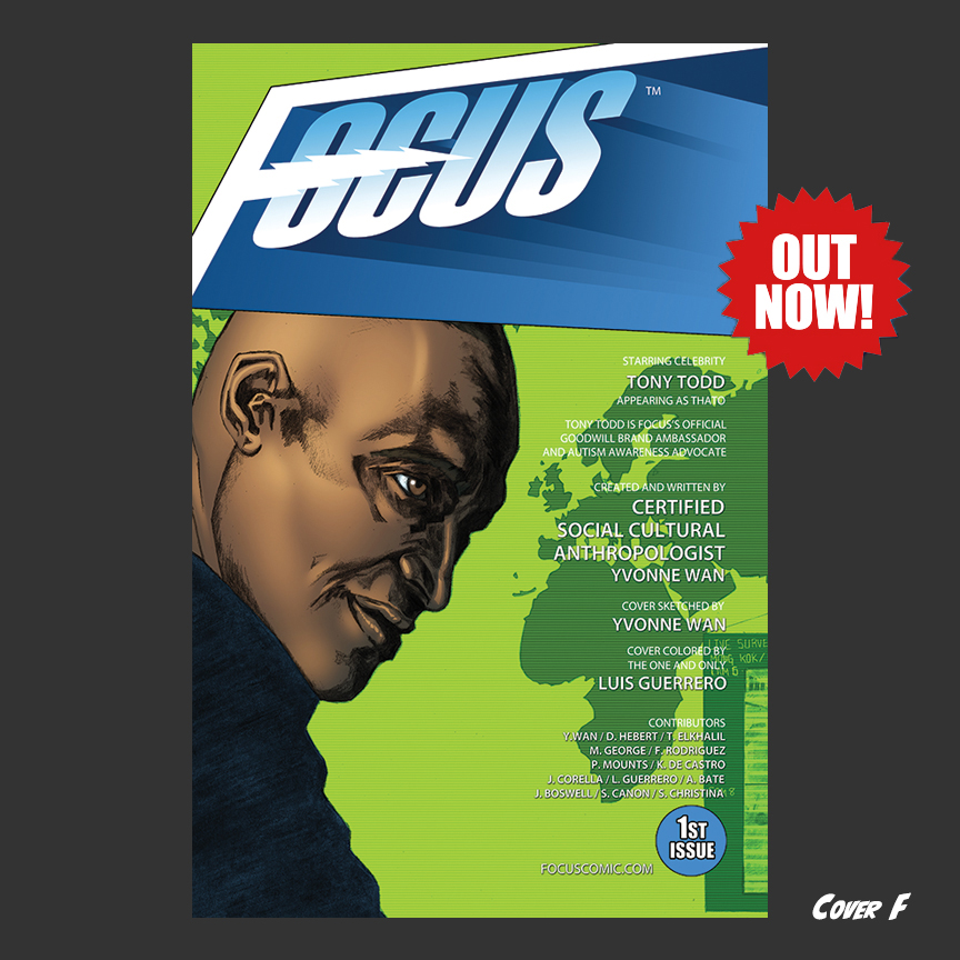 Focus Comic: Cover F