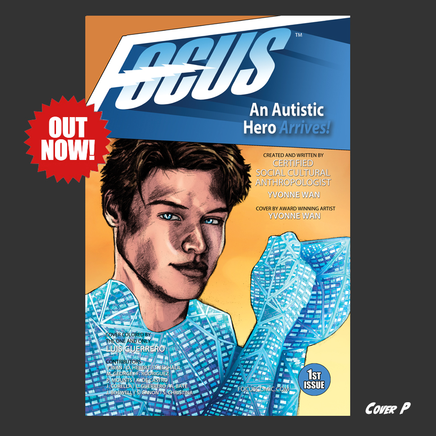 Focus Comic: Cover P