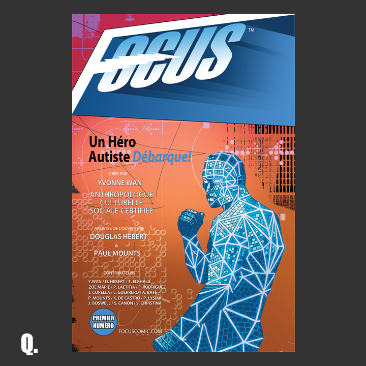 Focus Comic:  Cover Q