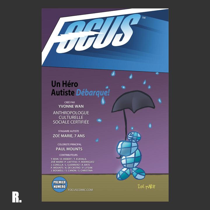 Focus Comic: Cover R