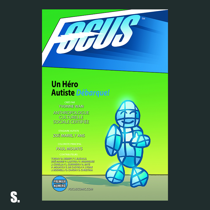 Focus Comic: Cover S